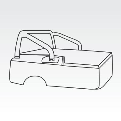 Three piece tub lid kit to retain existing Sportbars