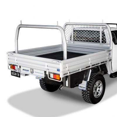 Single cab alloy ute tray L 2485 x W 1855mm - Deluxe