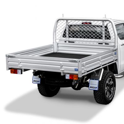 Dual or extra cab alloy ute tray L 2035 x W 1855mm - Deluxe