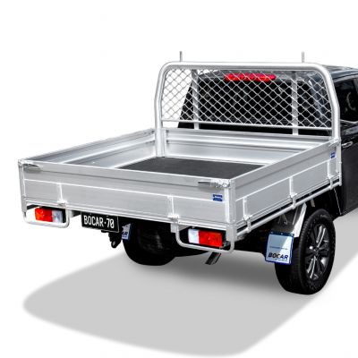 Single cab alloy ute tray L 2485 x W 1980mm - Ultimate