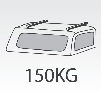 150kg FlexiRacks to suit FlexiCombos tray and canopy