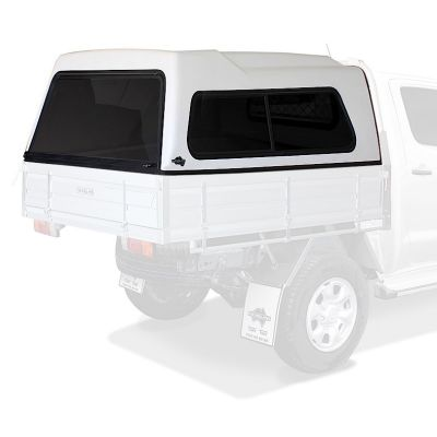 FlexiTrayTop Canopy to suit Toyota Hilux Dual Cab Ute Tray