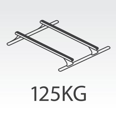 125kg Rhino Roof Racks to suit FlexiEdge Canopy