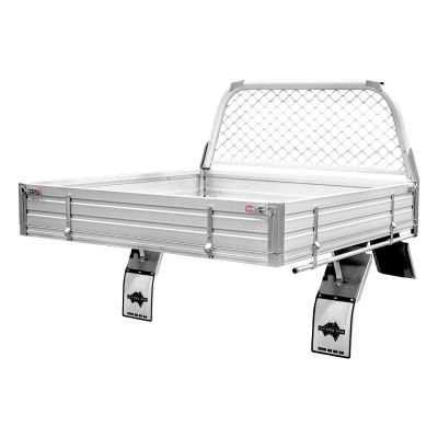 Alloy Ute Tray to suit Nissan Navara Dual Cab Chassis