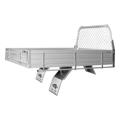 Alloy Ute Tray to suit Isuzu D-MAX Extra Cab Chassis