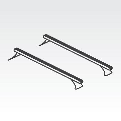 Vehicle Mount Vortex Roof Rack Bars x 2