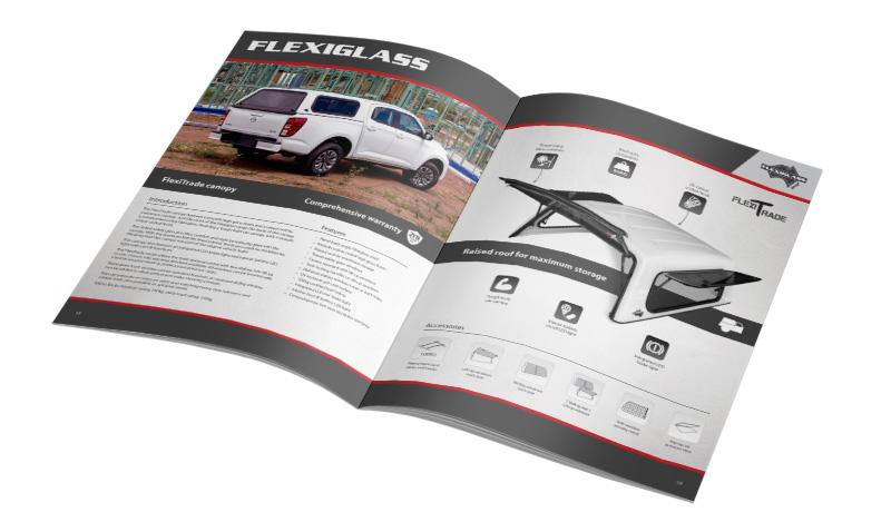 Flexiglass product catalogue edition 21.1 product information page