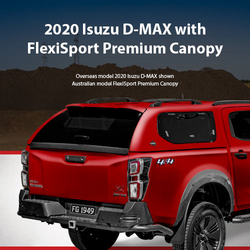2020 Isuzu D-MAX Canopy