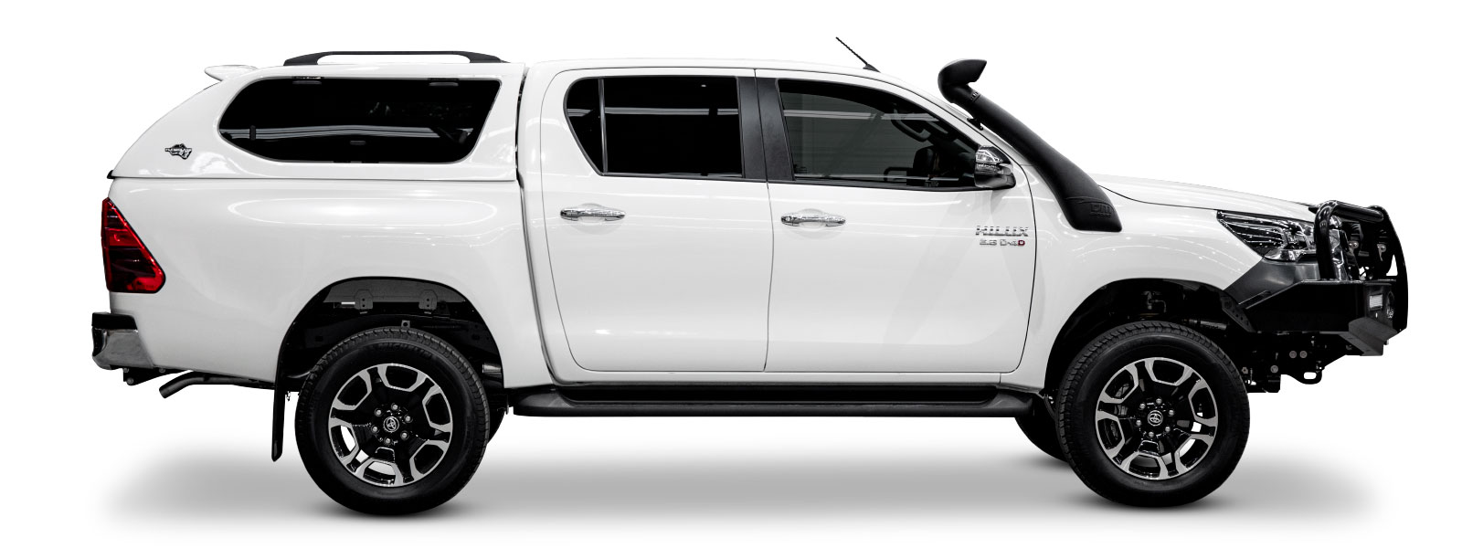 2020 Toyota Hilux Canopy Side-on
