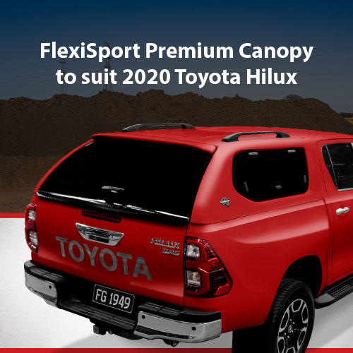 2020 Toyota Hilux Canopy